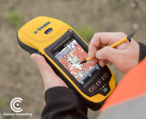 Use Conroy Consulting's Custom Trimble Devices.